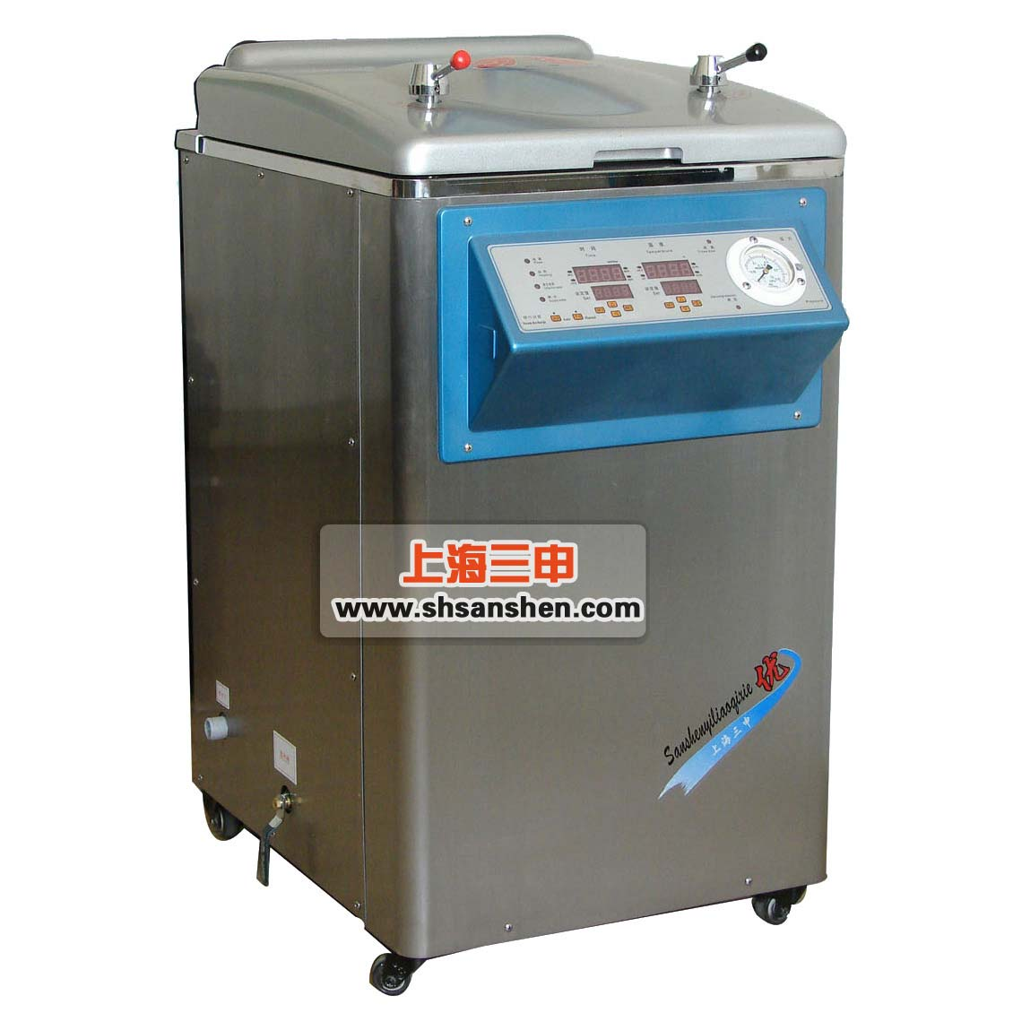 上海三申立式压力蒸汽xx色综合YM75FN 智能控制+内循环 75L高压蒸汽灭菌锅