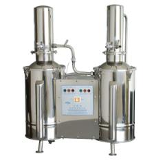 上海三申不锈钢电热双重蒸馏水器 蒸馏水机DZ10C 10L/h