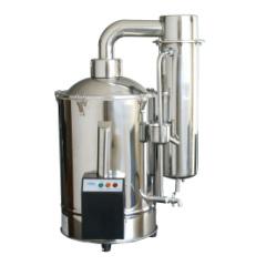 上海三申不锈钢电热双重蒸馏水器 蒸馏水机(断水自控型)DZ20Z 20L/h