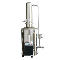 上海三申不锈钢电热双重蒸馏水器 蒸馏水机(断水自控型)DZ5Z 5