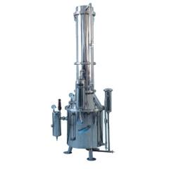 上海三申不锈钢塔式蒸汽重蒸馏水器TZ400