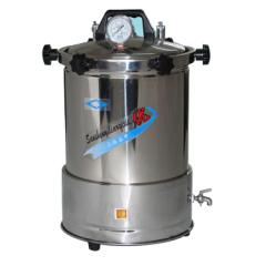 上海三申YX-280A手提式不锈钢蒸汽xx色综合高压灭菌锅15L(座式电热